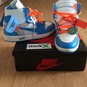 58330b7d Shoes | Off White University Blues Jordan 1 Retro | Poshmark